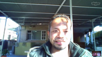 Sanjib Chaudhary on Skype