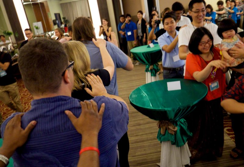 Conga line, GV Summit 2015. PHOTO: Jeremy Clarke